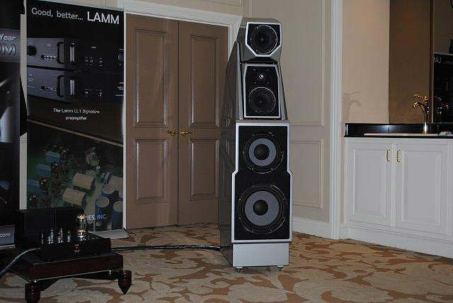 Wilson Max 3 speakers at CES 2013