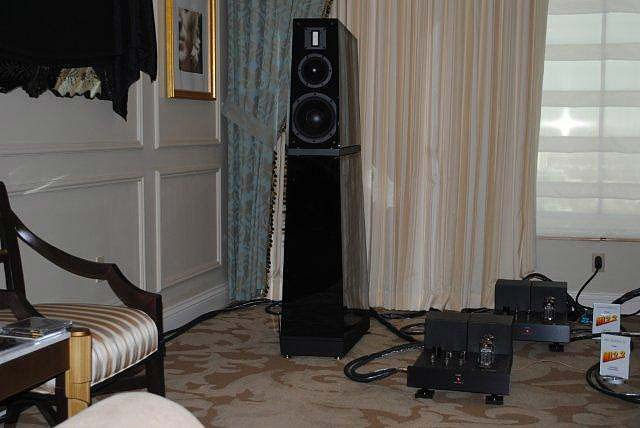 Verity Audio Lohengrin speakers at CES 2013