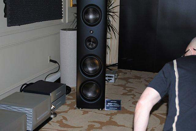 Magico Q-7 speakers at CES 2013