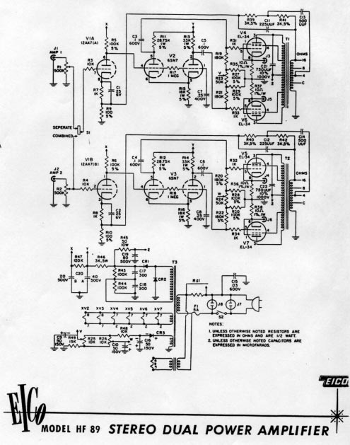 HF89 stock circuit