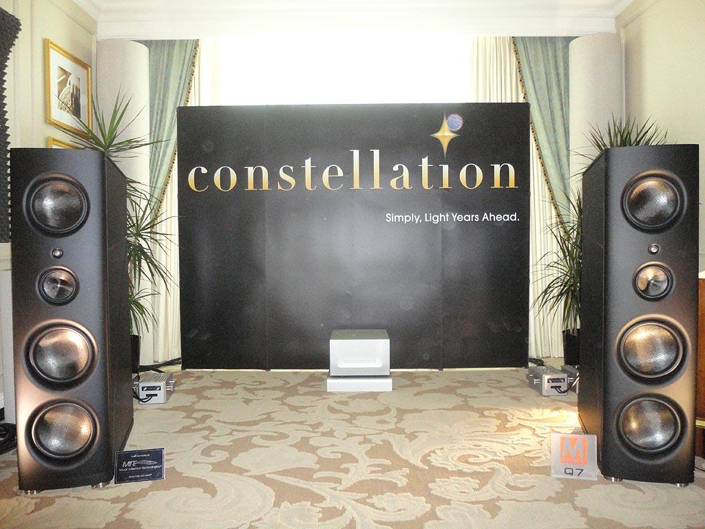 Constellation Audio room