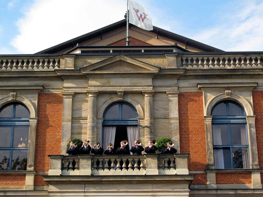 Bayreuth's Festspielhaus:  a Wagnerite's mecca