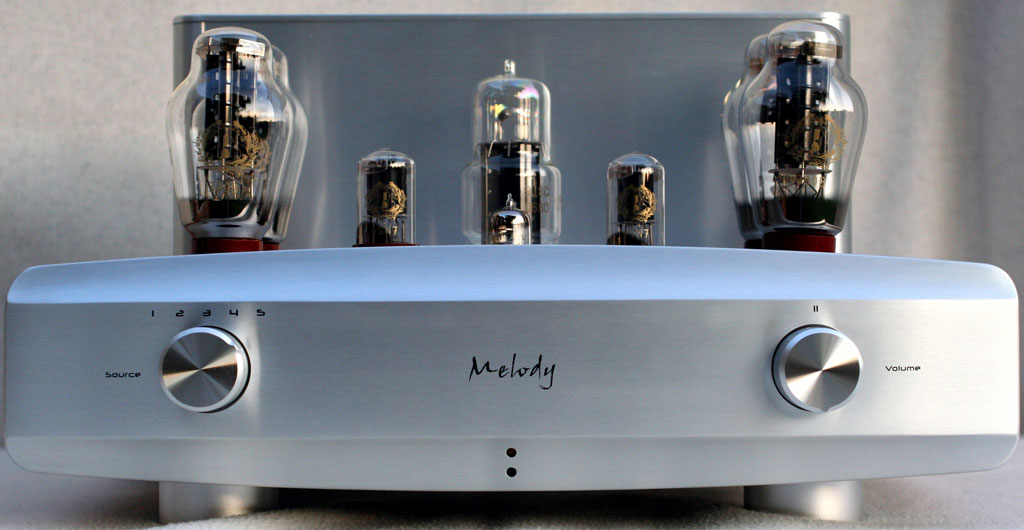 Melody Valve AN300B Tube Amplifier Review