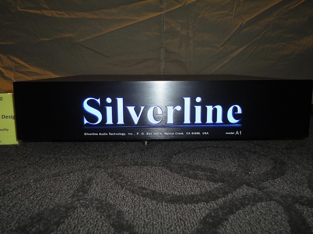 Silverline Audio A-1 Amplifier
