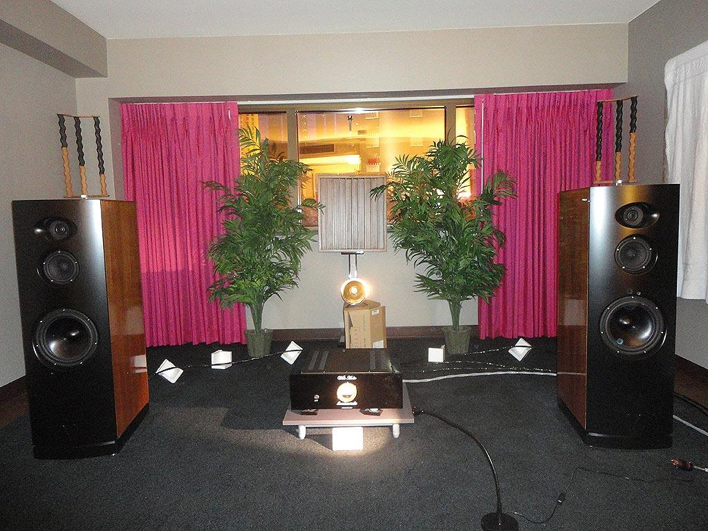 Wells Audio room