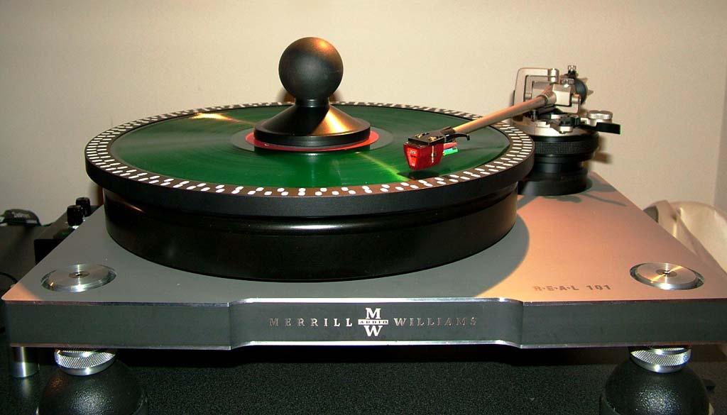 XYZ Yatra Cartridge and Merrill Williams Turntable