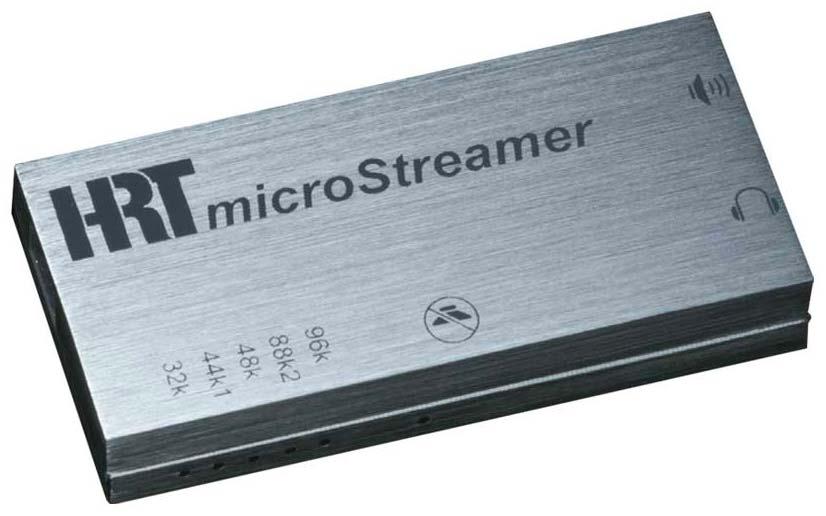 High Resolution Technologies Announces the microSTREAMER DAC