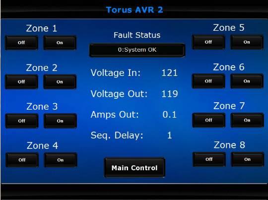 Crestron AVR 2 zonecontrol
