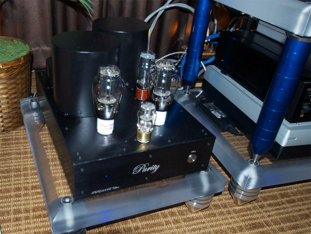 Purity Audio Design PSE 300B monoblocks ($26k/pair)
