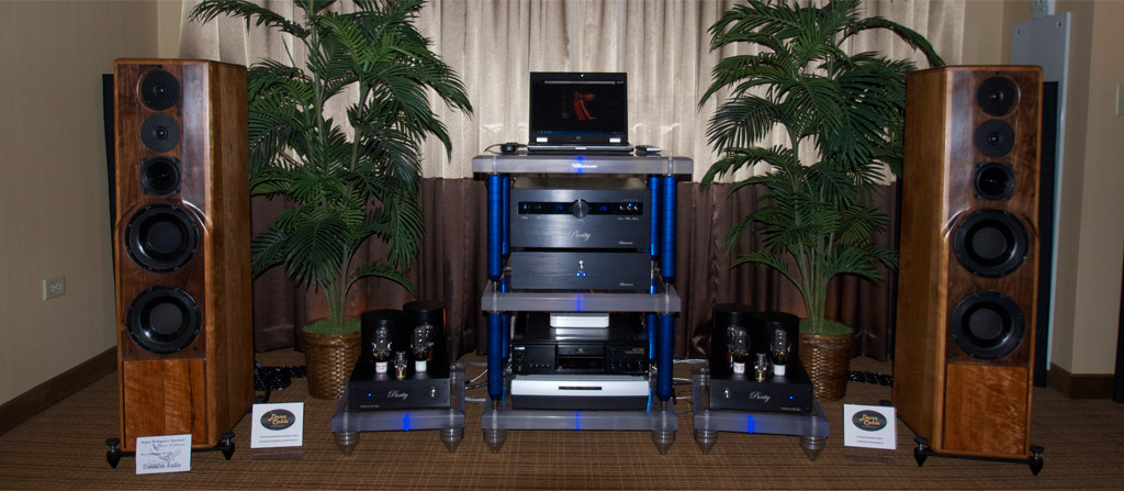 Purity Audio Design and Daedalus Audio at Axpona 2013