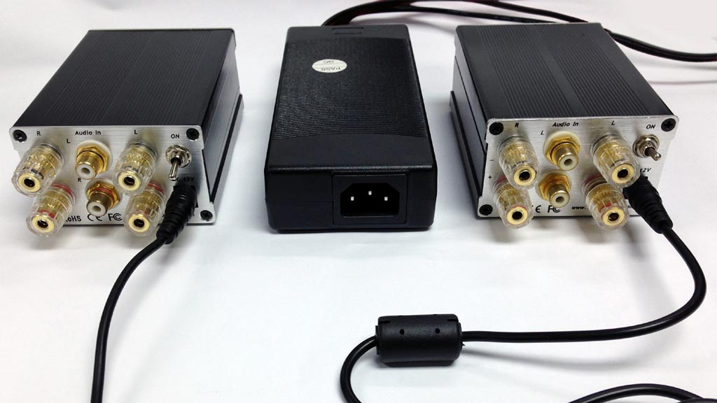 trends audio BA-10 Bi-amp