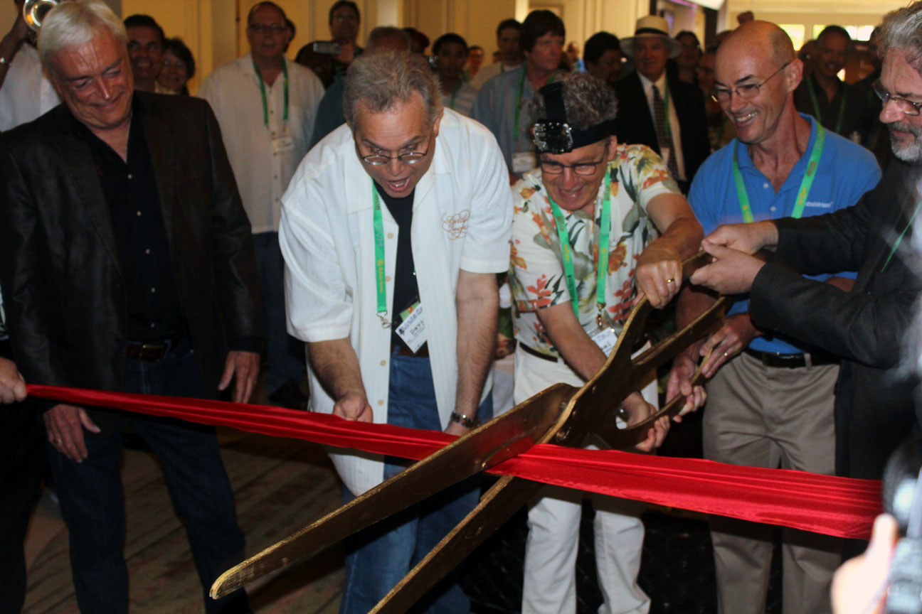 Ribbo-cutting