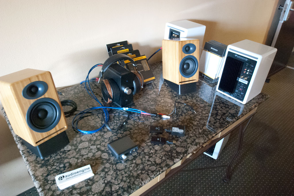 Audio Engine A2 and N22 Desktop Amplifier - Headphone Amplifier and Audeze LCD2 headphones