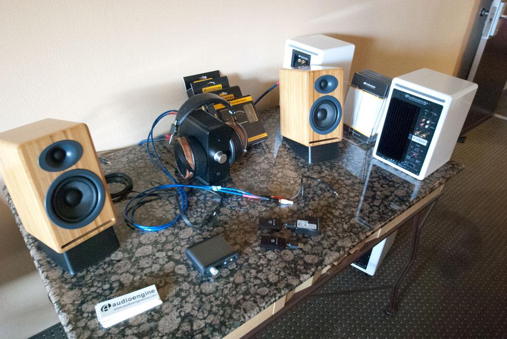 Audio Engine A2 and N22 Desktop Amplifier - Headphone Amplifier and Audeze LCD2 headphones