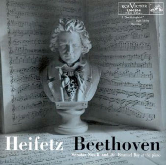 Heifetz Beethoven - Beethoven: Sonatas Nos. 8 (opus 30, number 3) and 10 (opus 96)
