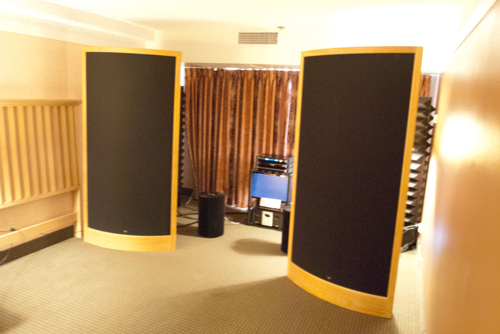 Blue Skies Audio - Silver Audio - Sound Lab A-1PX speakers ($28,270)