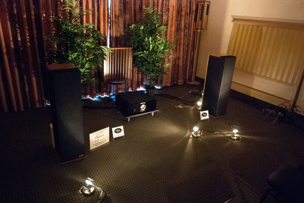 Chapman T-8 Speakers and Wells Audio