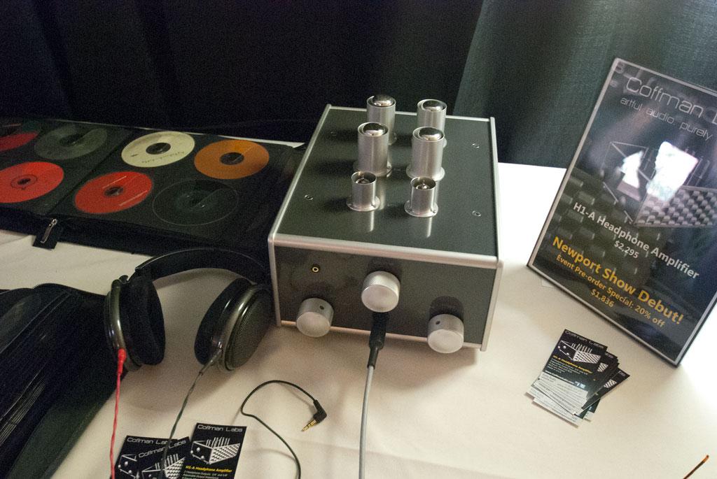 Coffman new H1-A headphone amplifier