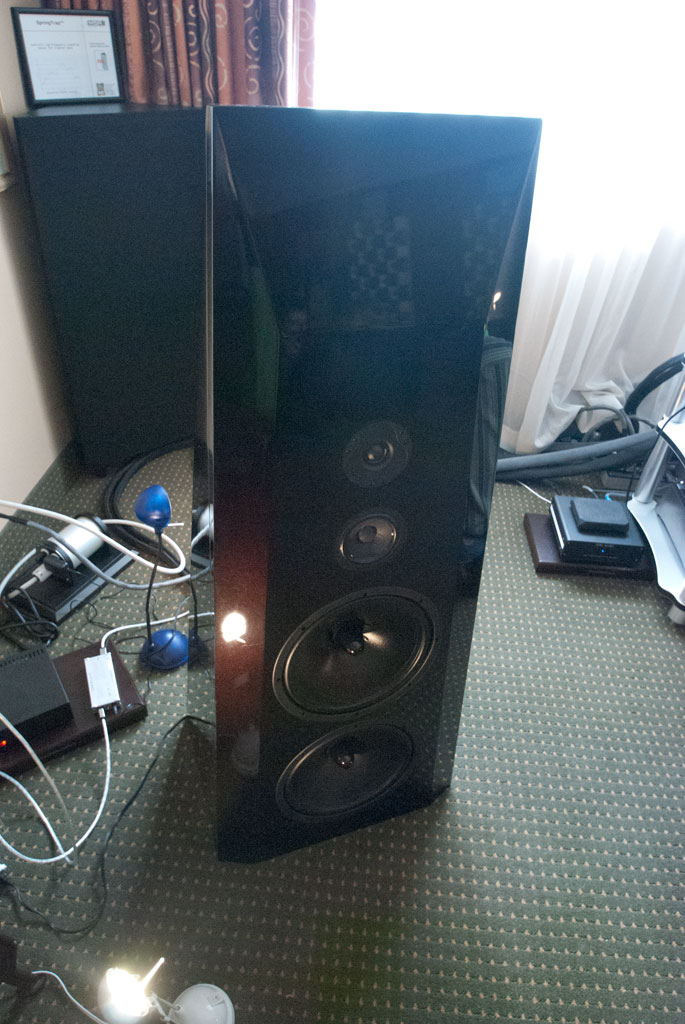 The Lotus Group G2 speakers