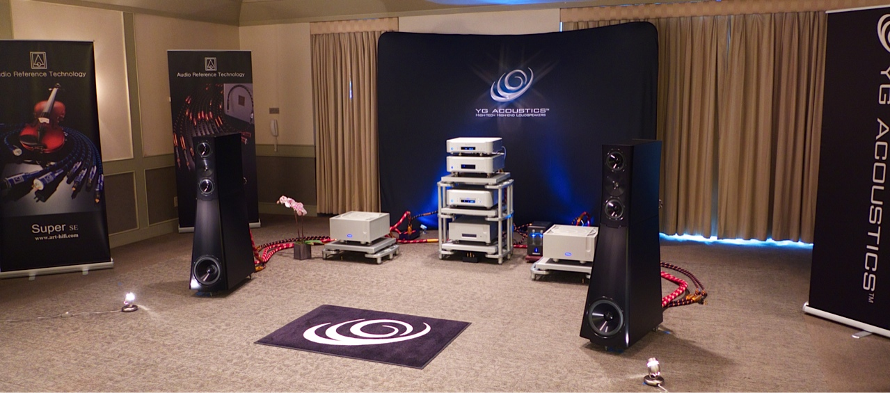 YG Speakers, Ypsilon amplification