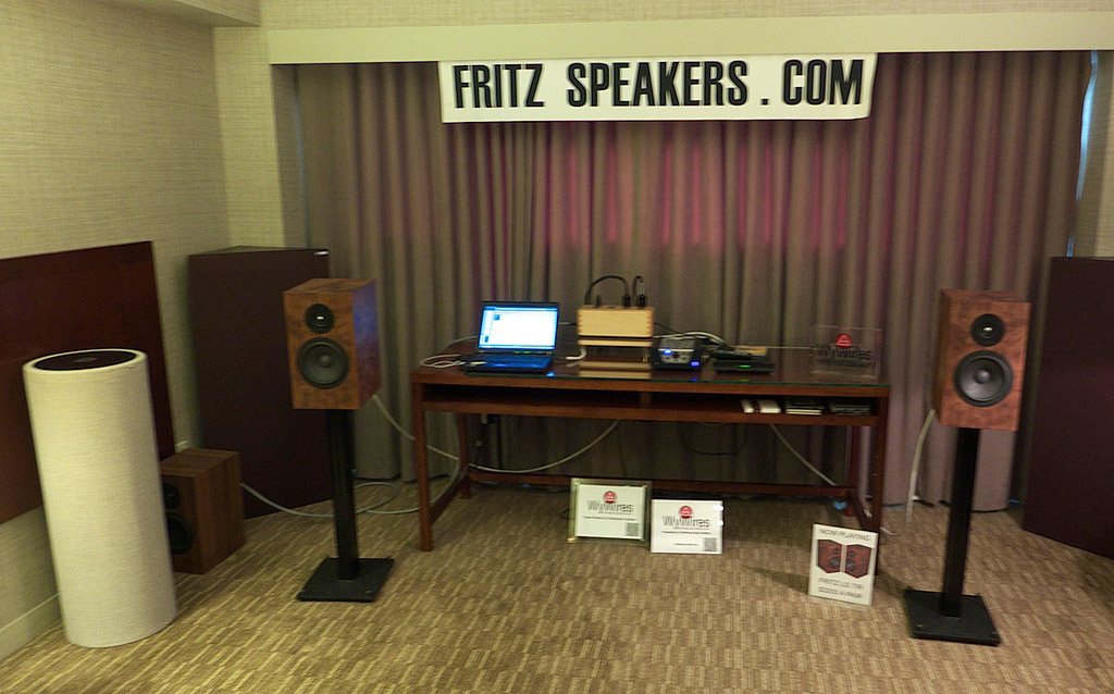Fritz Speaker and WyWire, maybe the best sound for the money at the show!