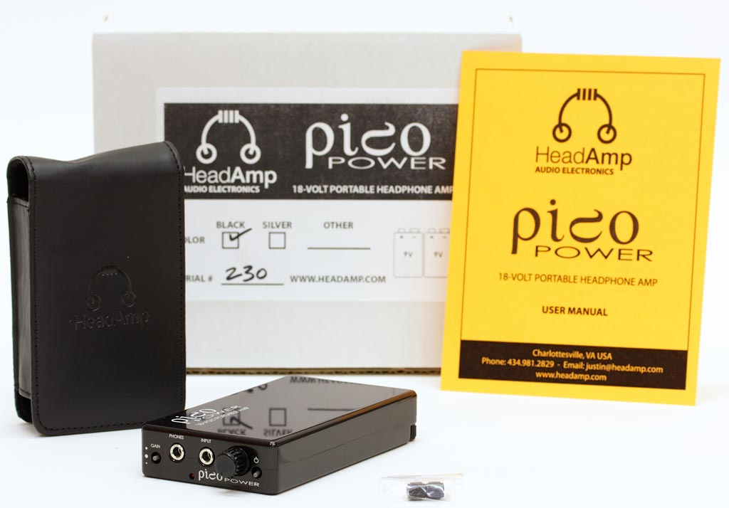 HeadAmp Pico Power Portable Headphone Amplifier