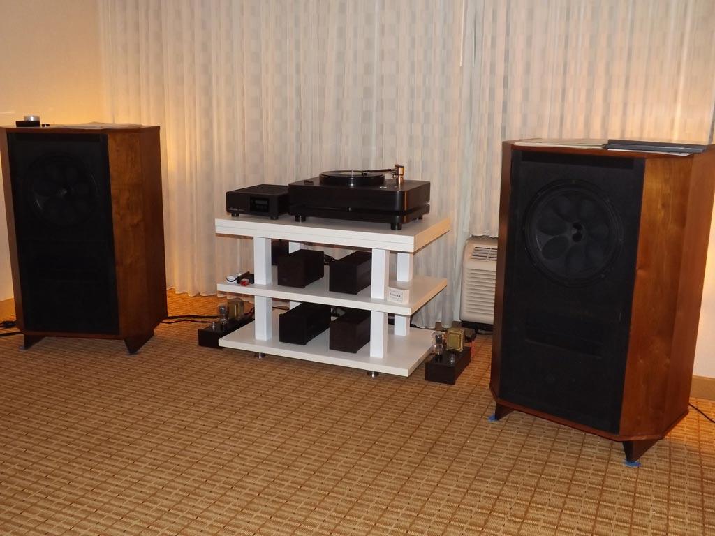 RCA LC-1A LS-11 vintage speakers at RMAF 2013