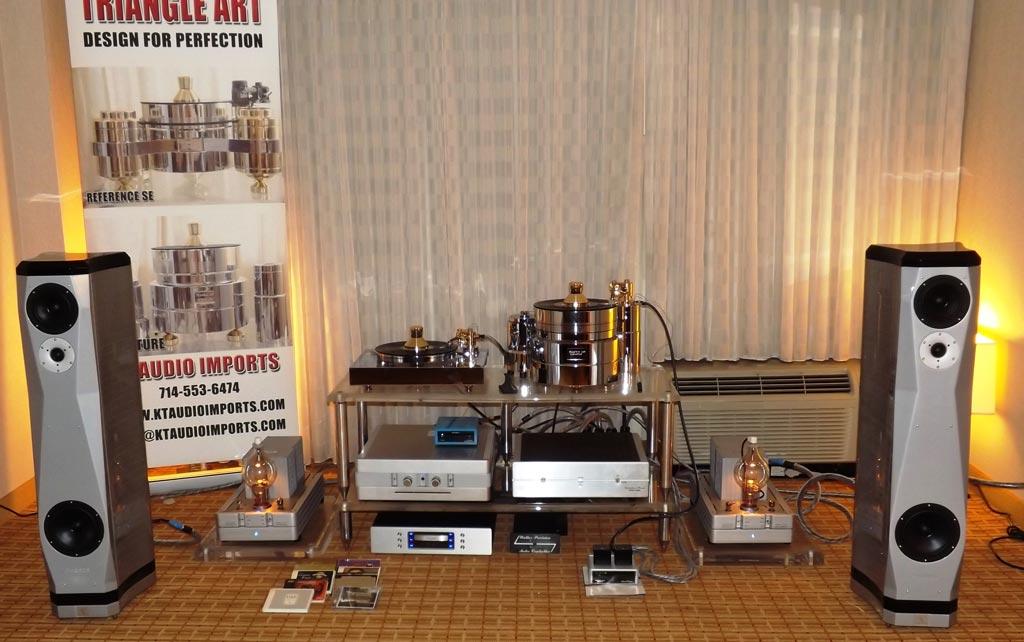 Italian Eventus Phobos speakers at RMAF 2013