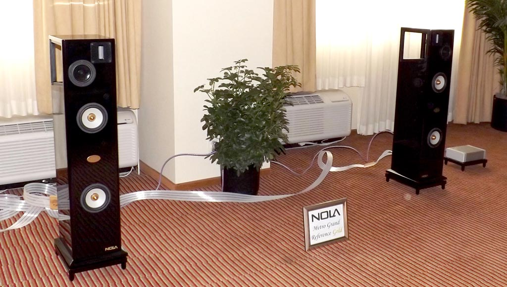 NOLA and Audio Research at RMAF 2013
