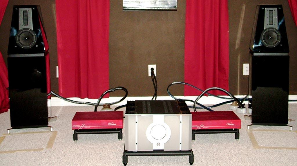Eficion F300M Satellite Speakers - Pass Labs - Merrill Williams