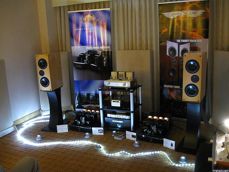 Angel City Audio - Melody amplifiers - Trinity Speakers at RMAF 2013