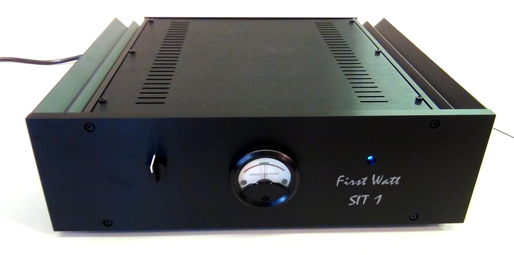 First Watt SIT-1 Mono Power Amplifiers
