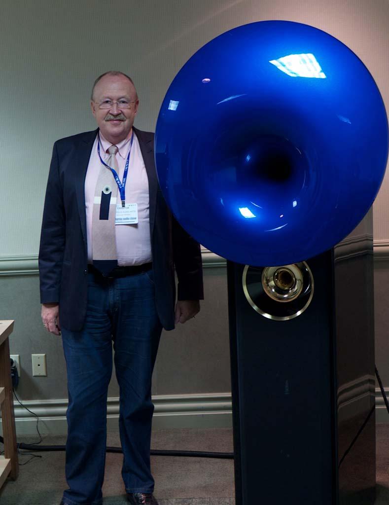 Hermann Winters of Acapella Audio Arts of Germany and Atlas Speaker