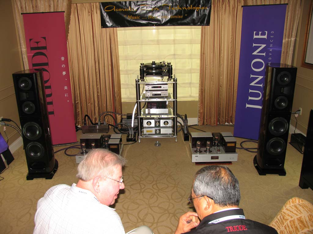 Triode Corporation - Acoustic Zen - Kronos at CES 2014