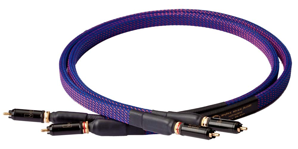 Snake River Audio Cottonmouth Sign Mamushi (shielded) RCA Interconnect Cable