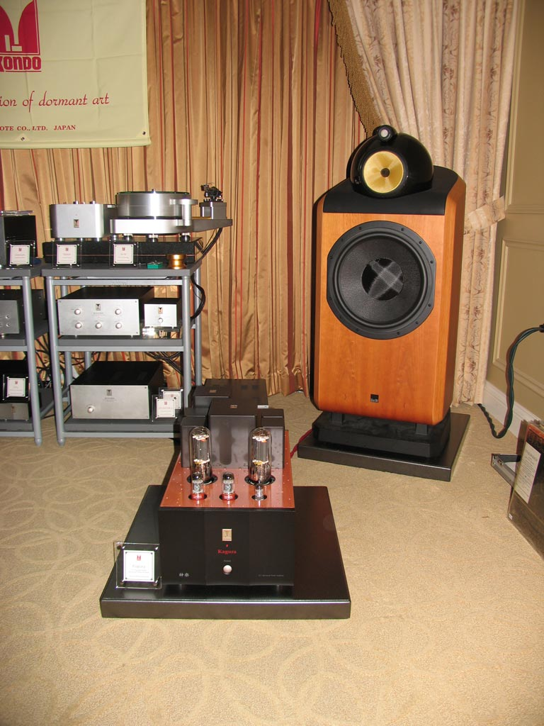 Audio Note of Japan - Kondo - B&W at CES 2014