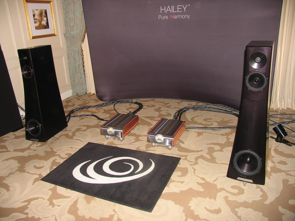 YG Acoustics D'Agostino at CES 2014