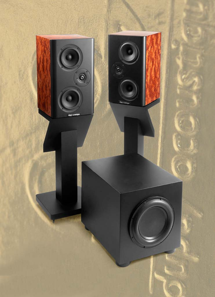 The Dupuy Acoustique Bongo Speaker System and sub