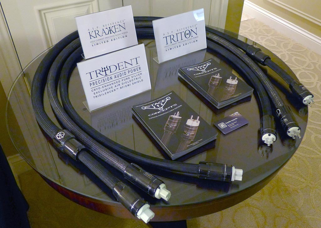 Stage III Trydent, Triton, Kraken power cords new for 2014