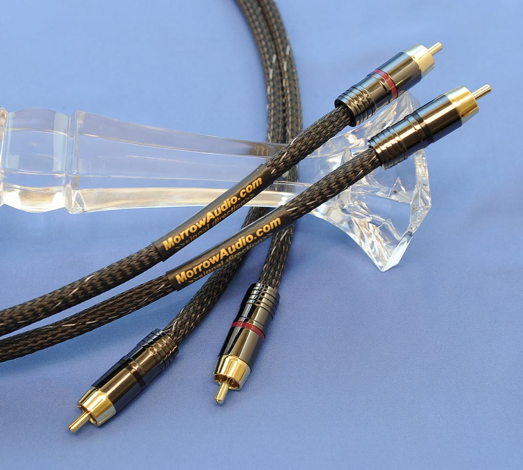 Morrow Audio MA7 Interconnect Cables