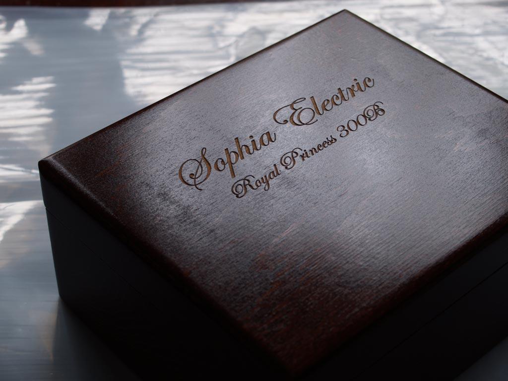 Sophia Electric's Royal Princess 300B Vacuum Tube Box