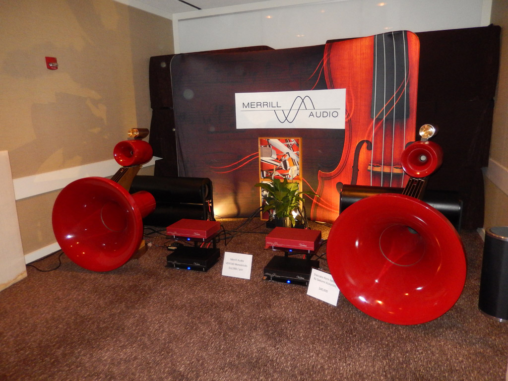 Merrill Audio and Sadurni Acoustics at Axpona 2014