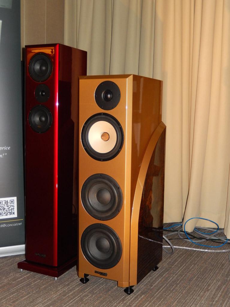 Salk Speaker and Audio by Van Alstine at Axpona 2014