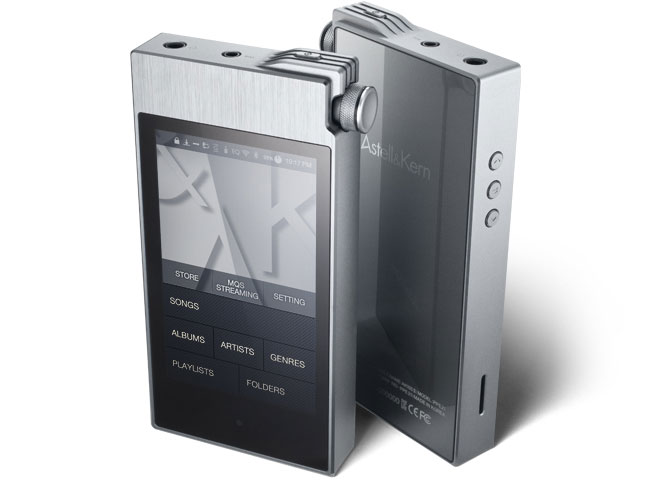 astellnkern ak100II portable player