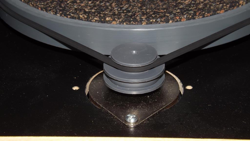 Merrill Replica ES-R1 Turntable Platter and pulley