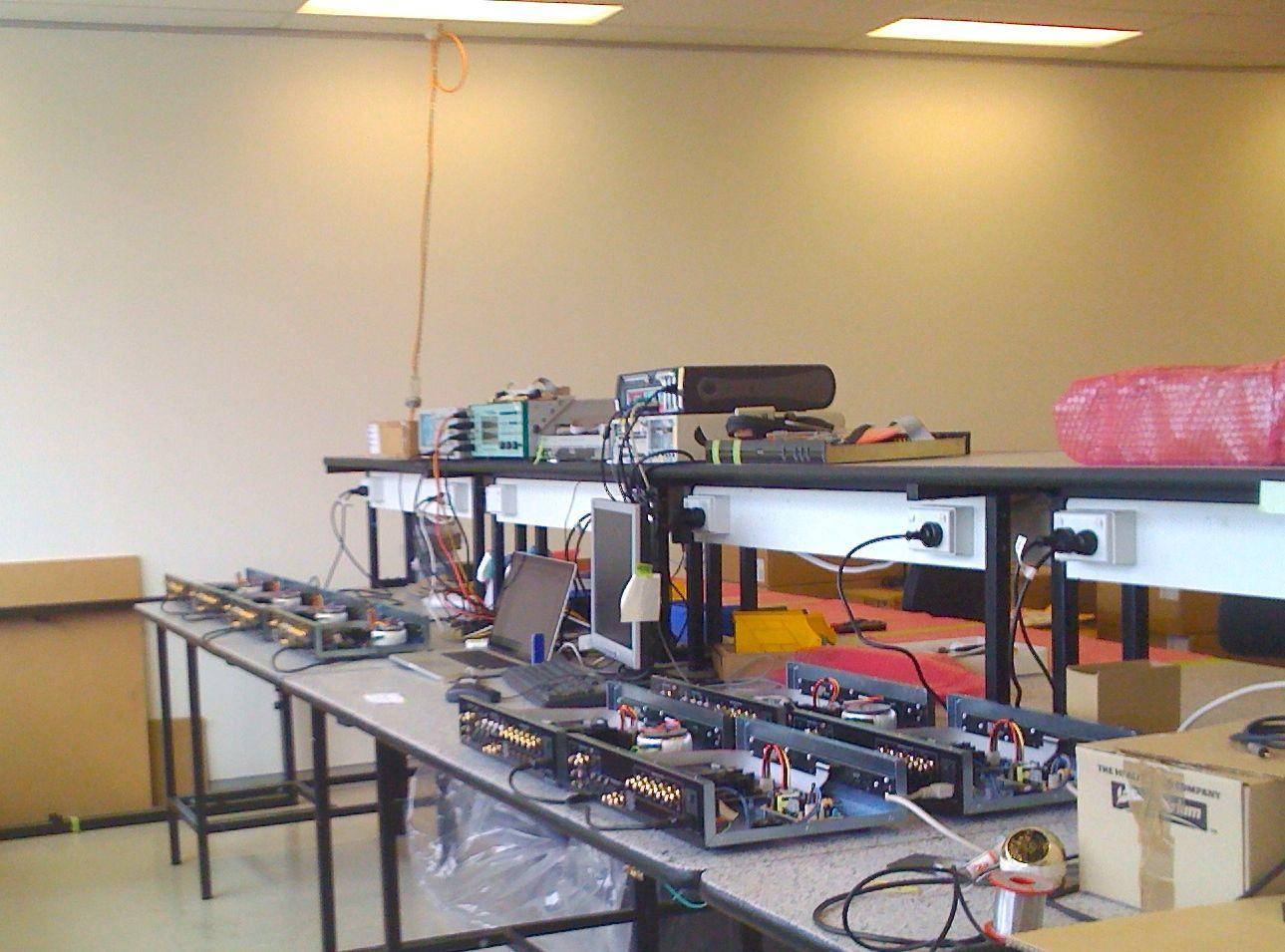 DEQX HDP programming bench