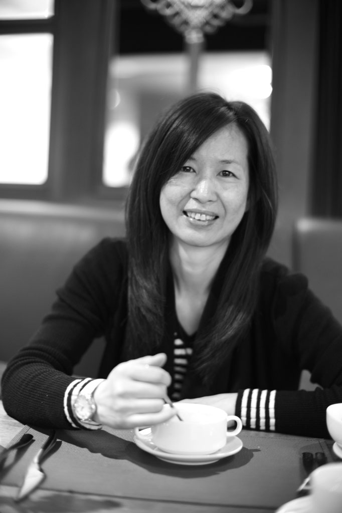 Angela Yang, the Global Marketing Manager for Lawrence Audio
