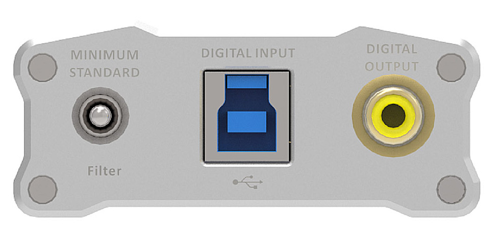 iFi Audio iDSD input side