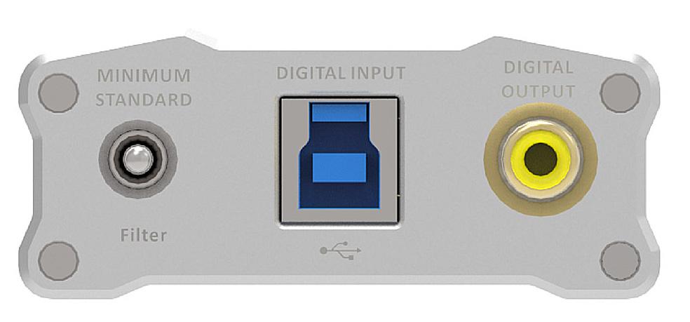iFi Audio iDSD input side