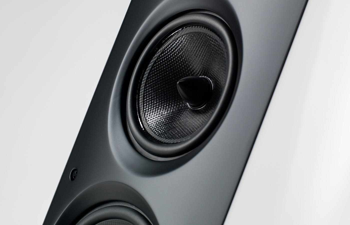 Sonus Faber Venere 3.0 Floorstanding Speaker Close up mid driver